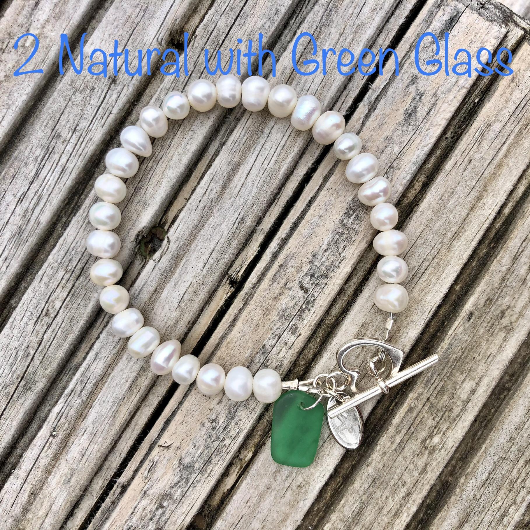 Freshwater Pearl Bracelet 2: Natural SALE (£32)