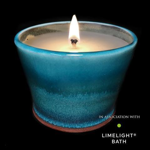 Rupert Blamire Candle: Aquamarine