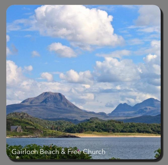 L57  Gairloch Beach & Free Church
