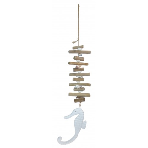 Driftwood Seahorse Mobile