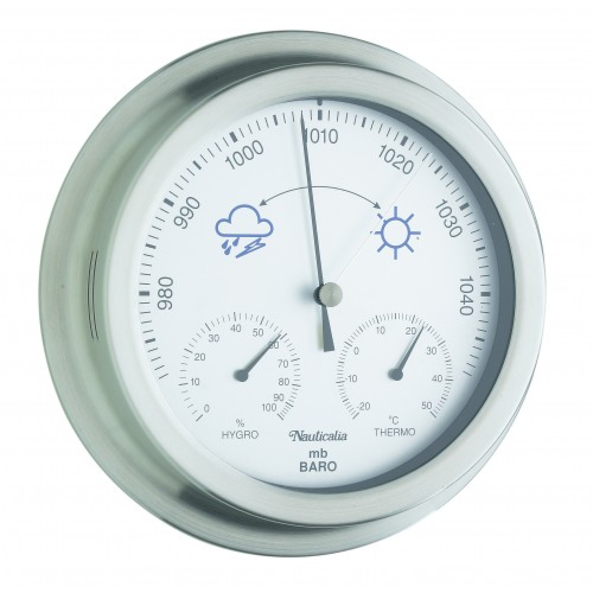 Stainless Steel Barometer