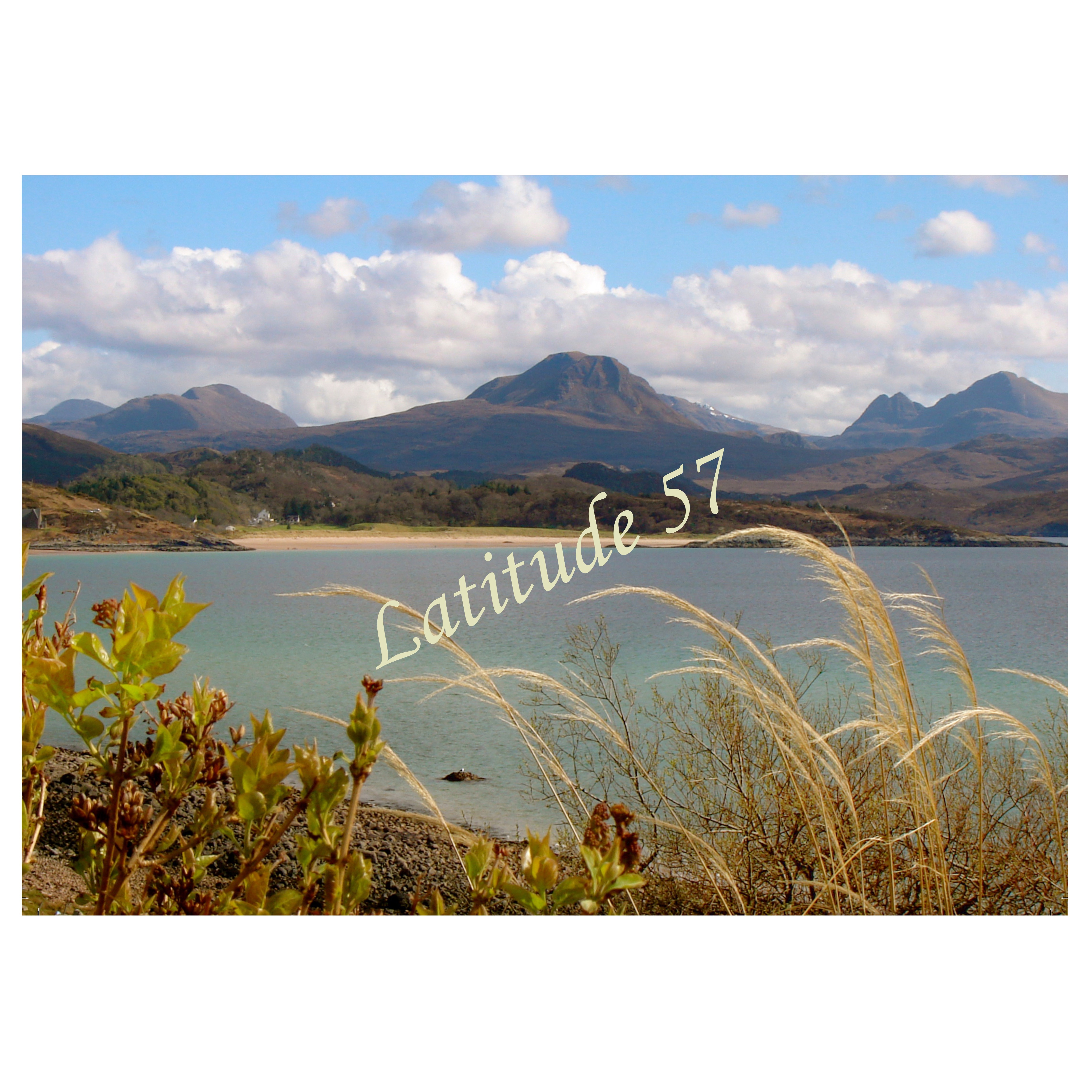 Mounted Print: Gairloch Beach from Lonemore