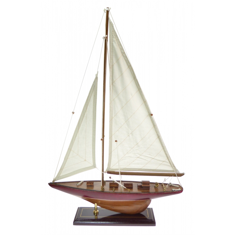 42cm Yacht with Red Hull