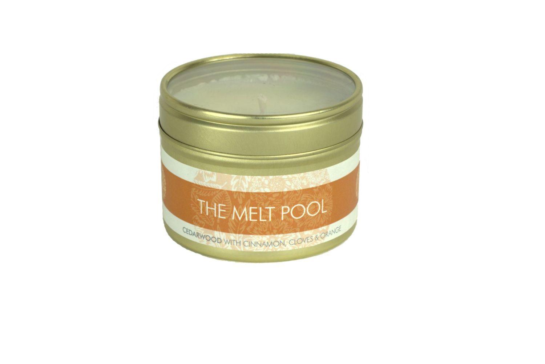 The Melt Pool Small Tin: Cedarwood w/Cinnamon…