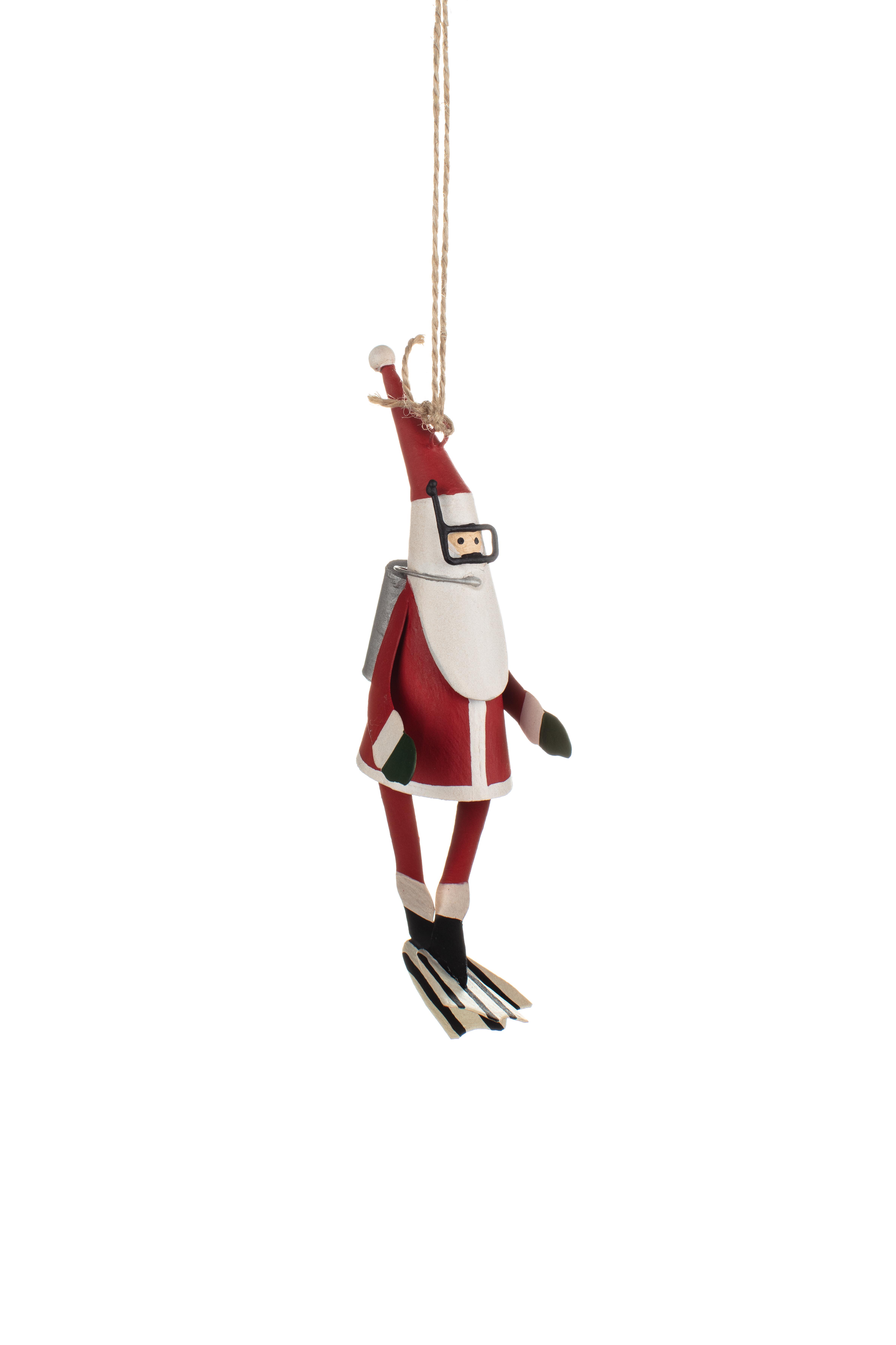 Xmas: Tin Santa in Scuba Gear