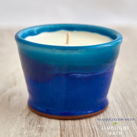 Rupert Blamire Candle: Deep Sea Blue
