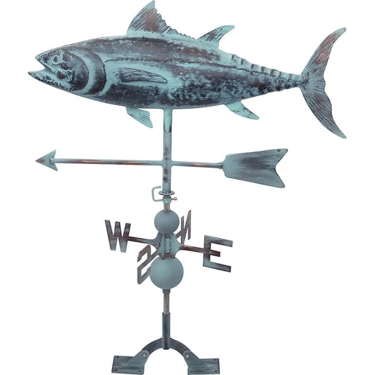 Outdoor Tuna Weathervane