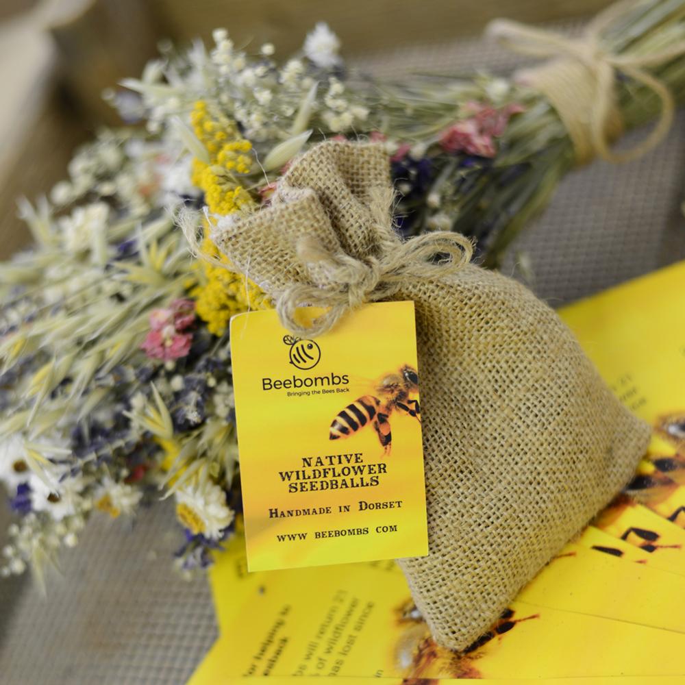 Native Wildflower Beebombs SALE (£7.50)