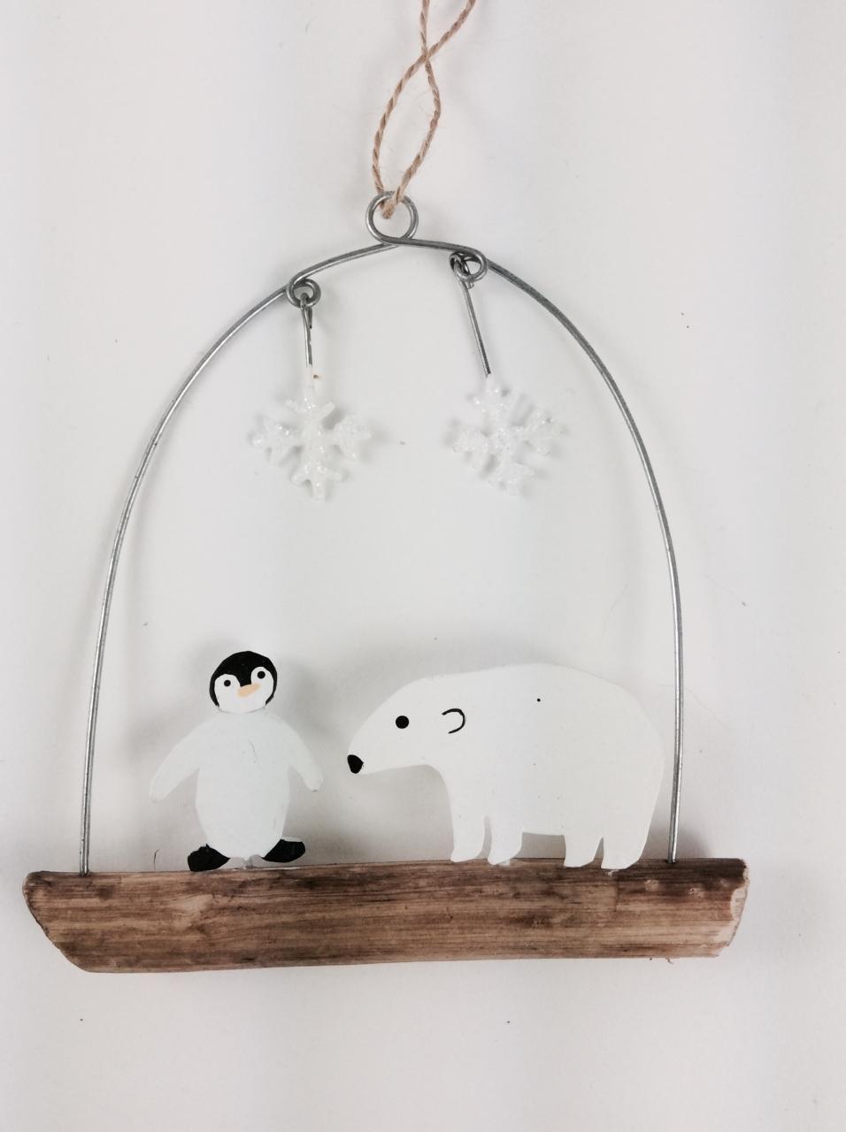 Penguin & Polar Bear Hanger