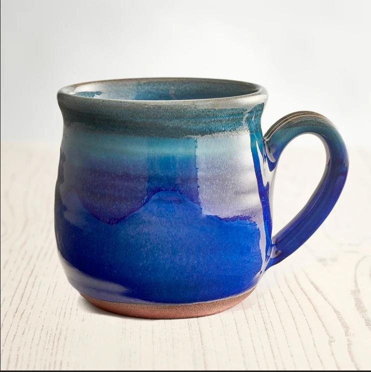 Rupert Blamire Mug: Deep Sea Blue