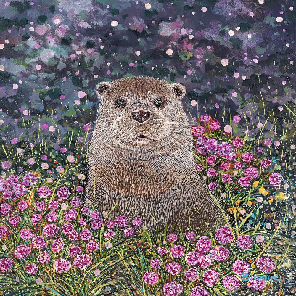 Art Card by Hope Blamire: Otter SALE 20% (£2.75)