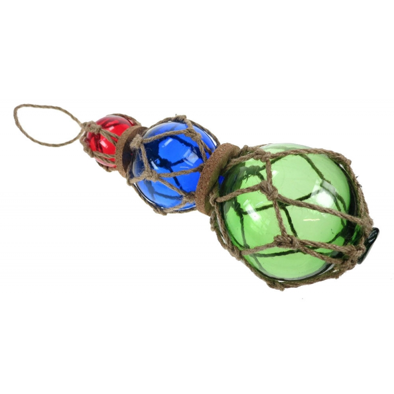 Glass Bouy Triple 38cm