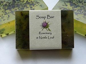 Soap Bar: Rosemary & Nettle Leaf