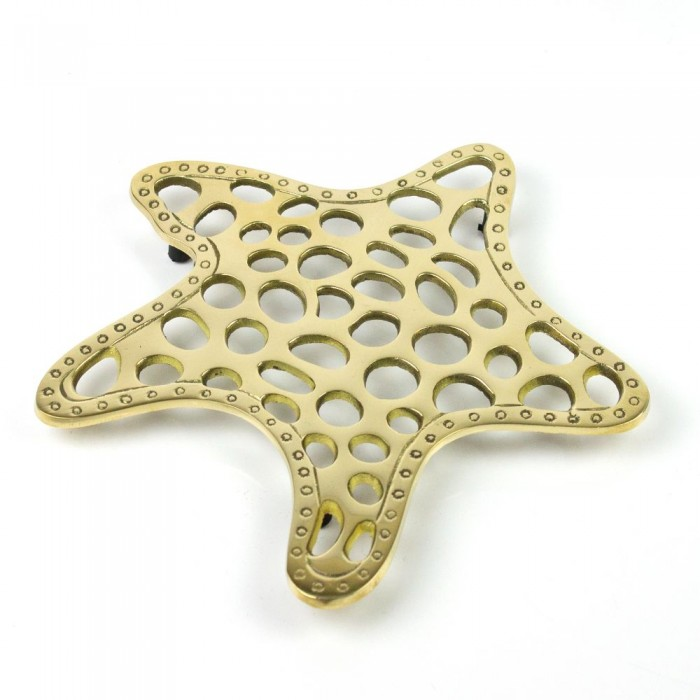 Trivet: Brass Starfish 20 x 20cm