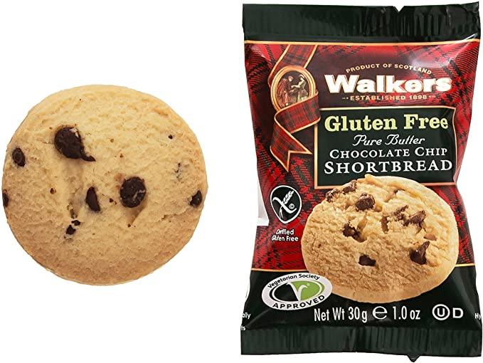 Walkers Gluten Free Chocolate Chip Shortbread 30 g