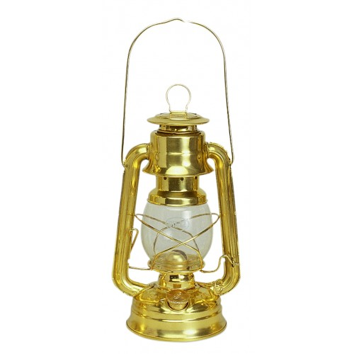 Brass Hurricane Oil Lamp