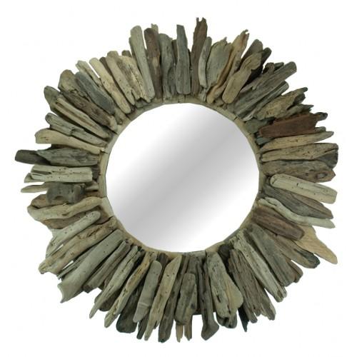Driftwood Sunburst Mirror 60cm