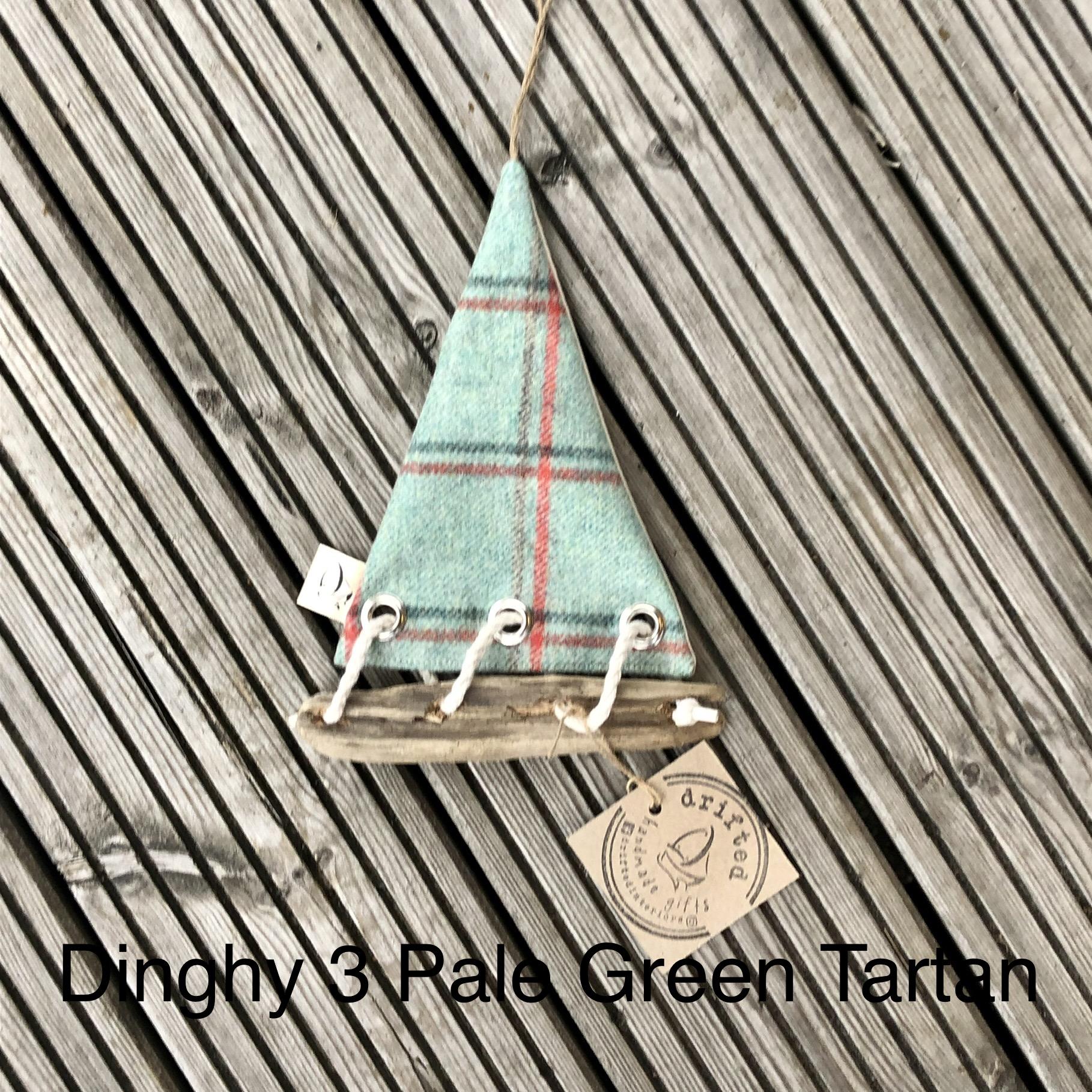 Handmade Driftwood Dinghy 3