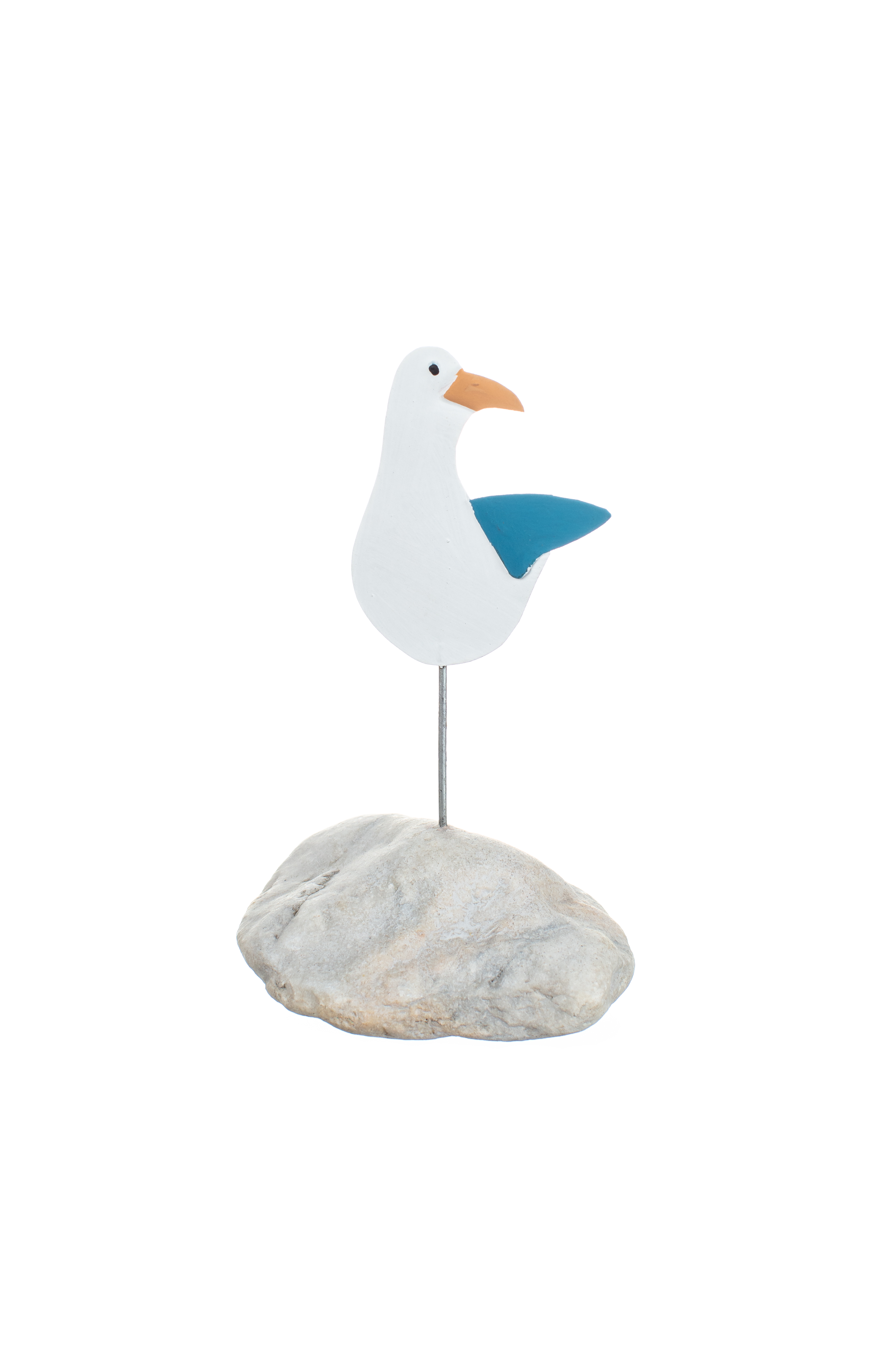 Sam the Seagull on a Pebble