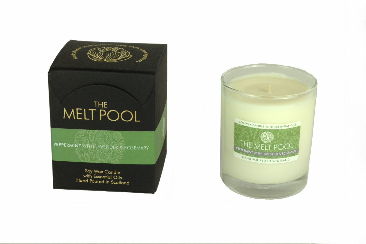 The Melt Pool Candle: Peppermint, Lavender