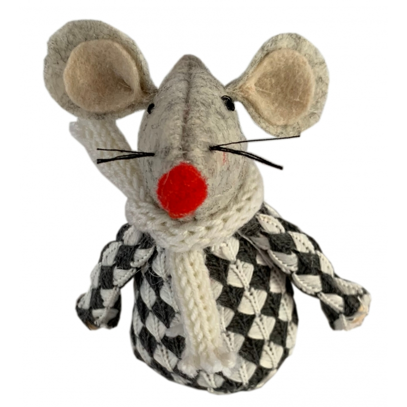 Mouse in Grey Jumper