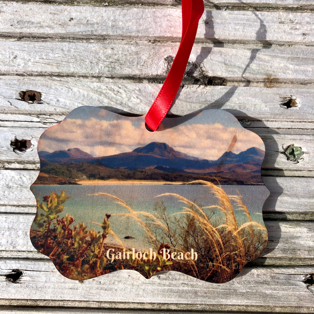 Xmas: Wooden Ornament Gairloch