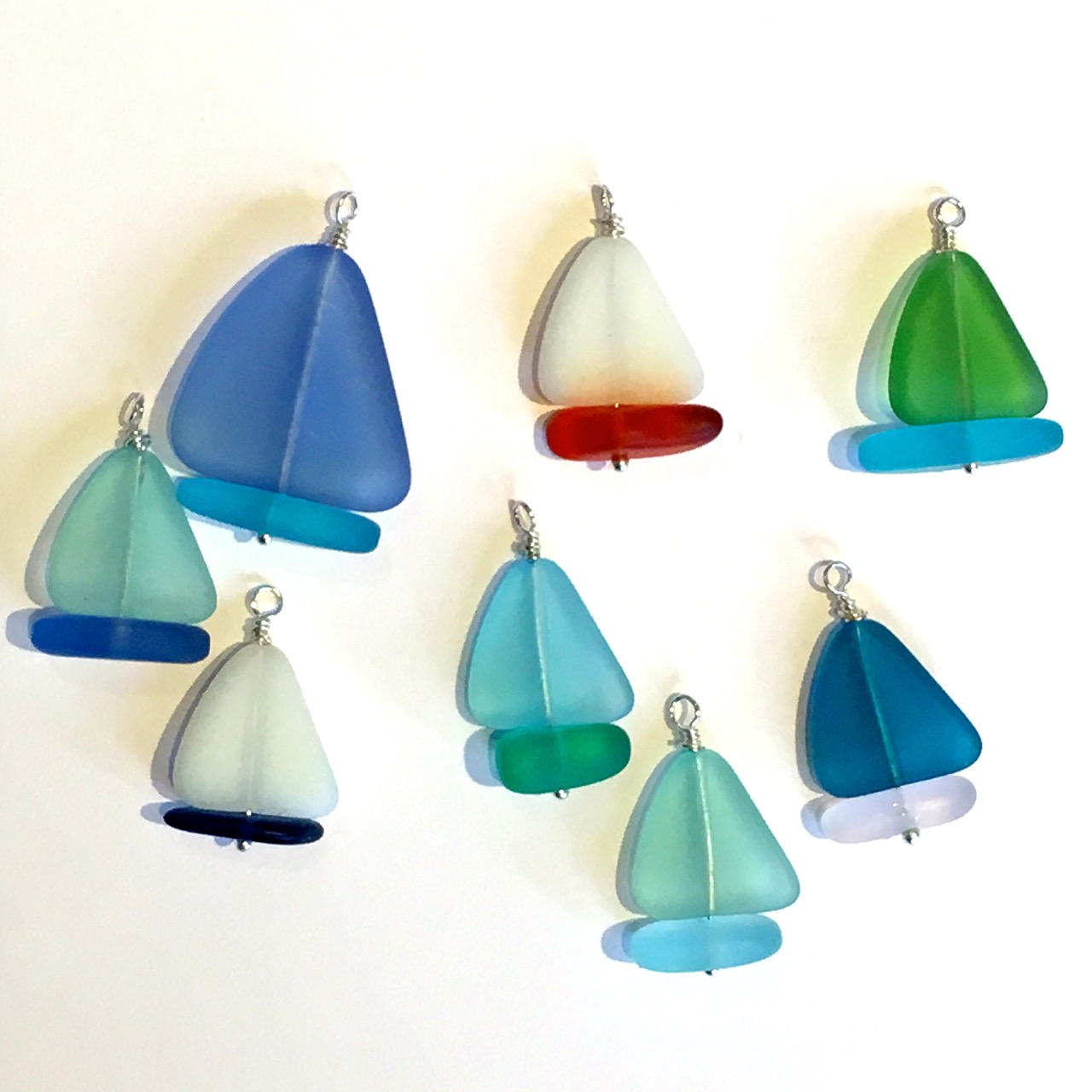 Sea Glass Yacht Necklace