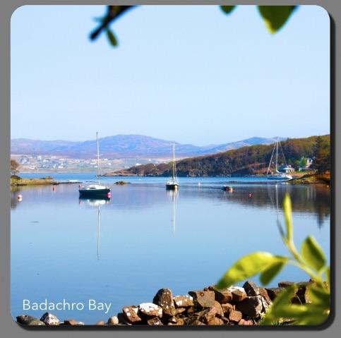 L57  Badachro Bay From Garden