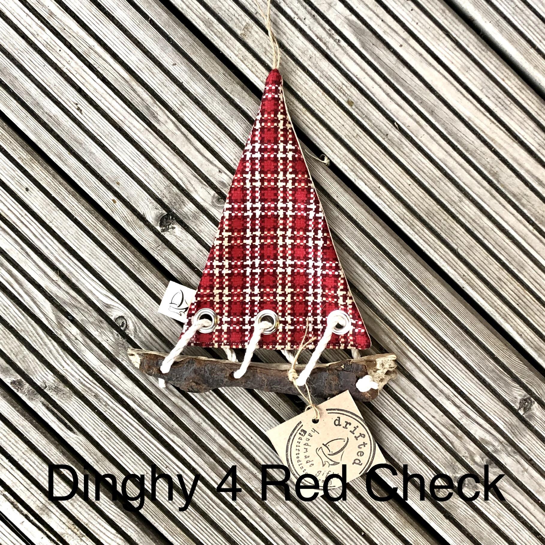 Handmade Driftwood Dinghy 4