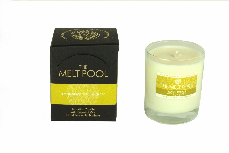 The Melt Pool Candle: Lemongrass & Lavender