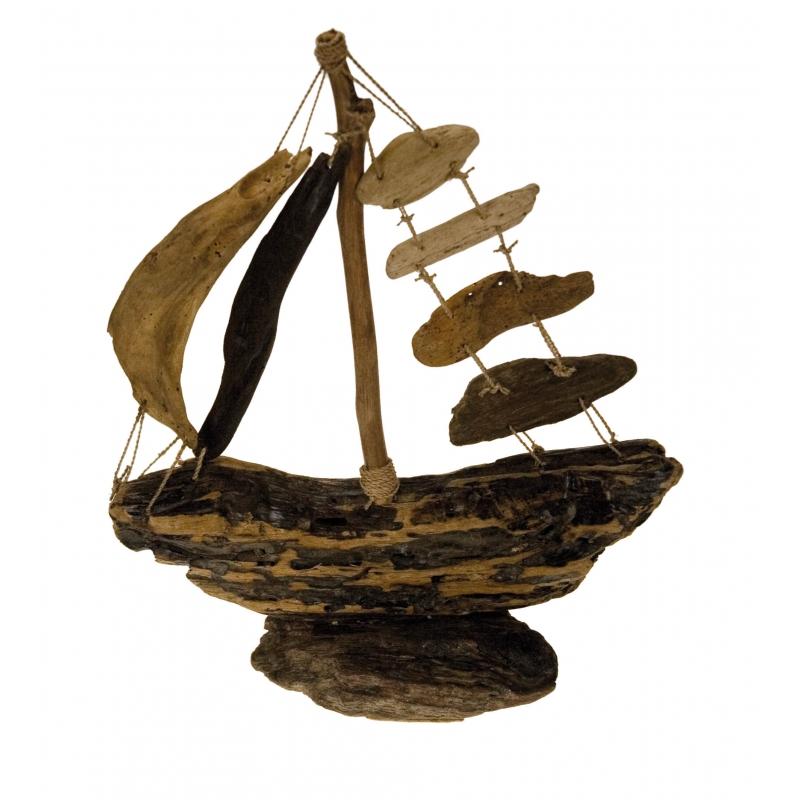 Driftwood Boat Large
