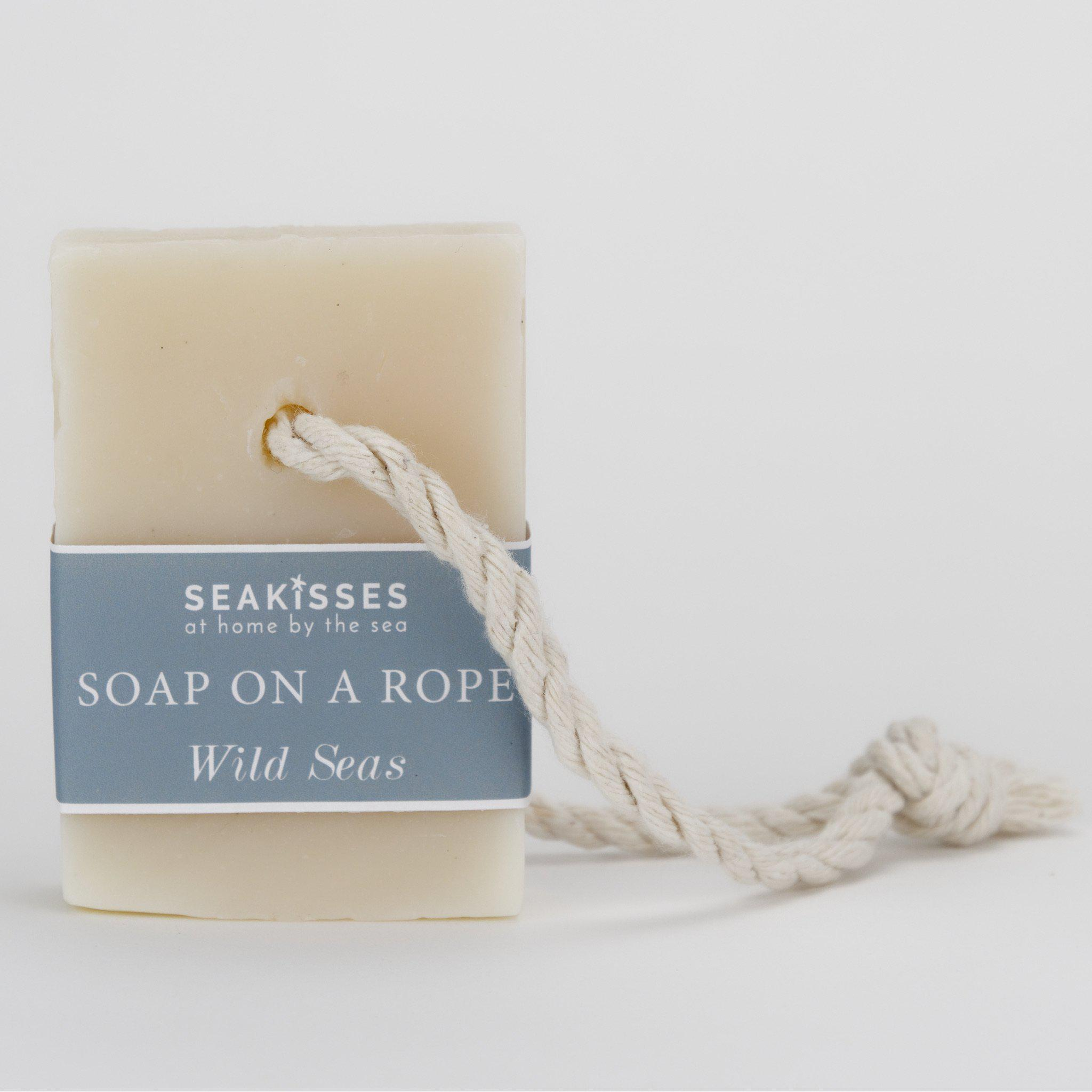 Sea Kisses Beach Lovers Soap on a Rope