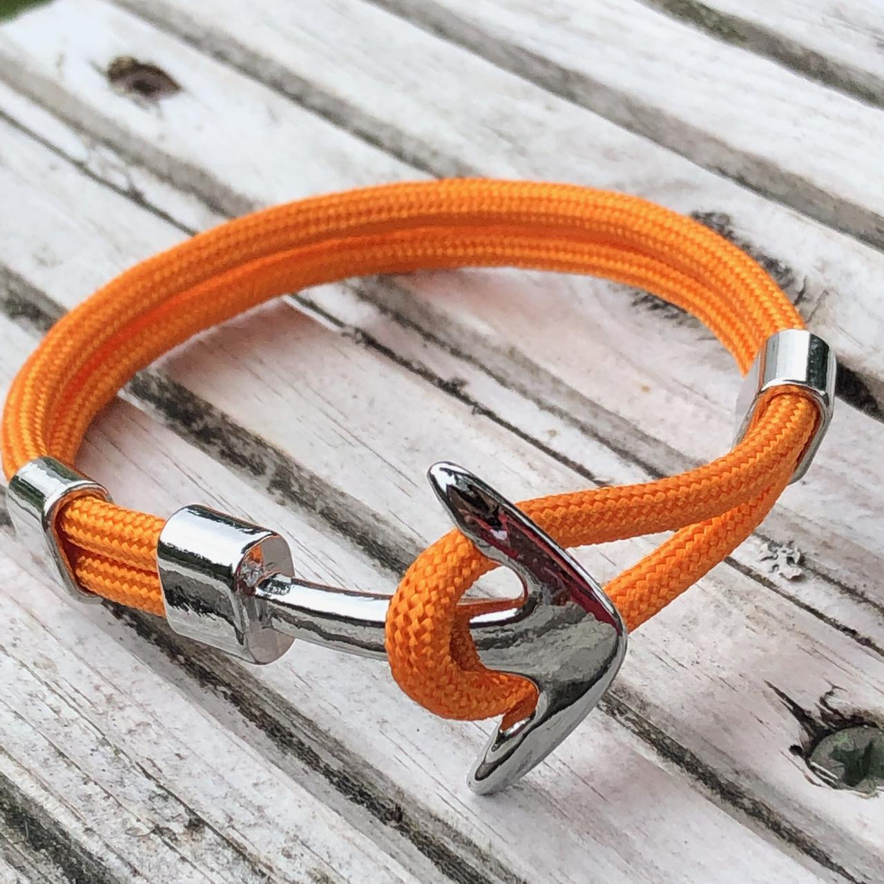 Nautical Rope Bracelet Anchor 21cm