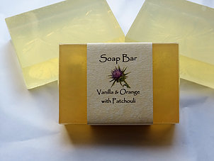 Soap Bar: Vanilla & Orange with Patchouli