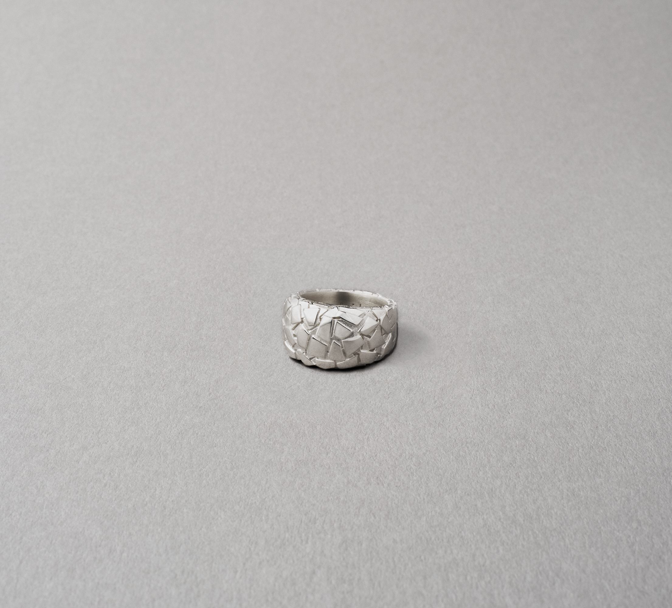 Patch Ring Silver