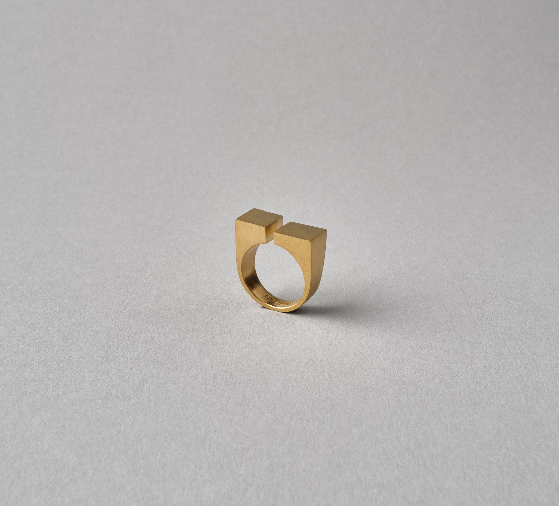 Cubic Ring Vermeil