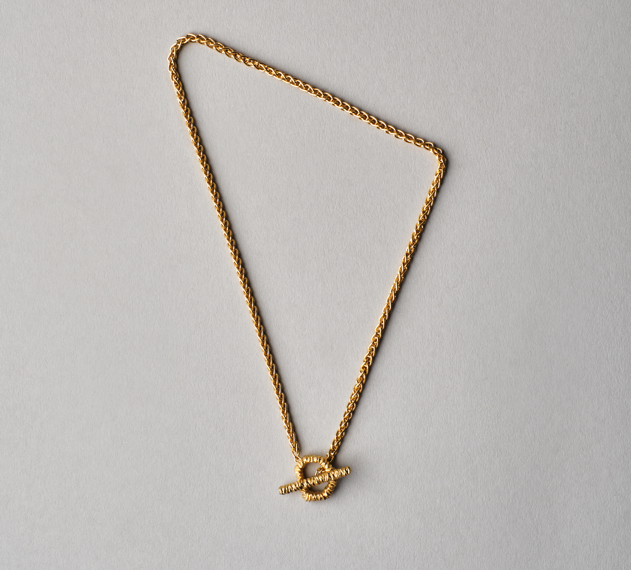 Crystal Necklace Vermeil