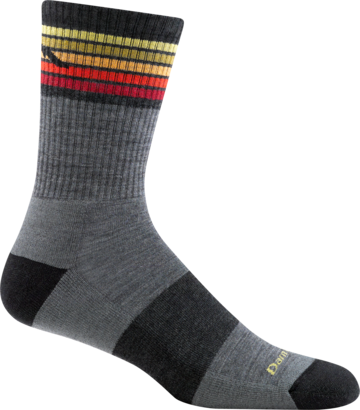 Darn Tough Men's Lightweight Kelso Micro Crew Sock with Light Cushion (DT 1973)