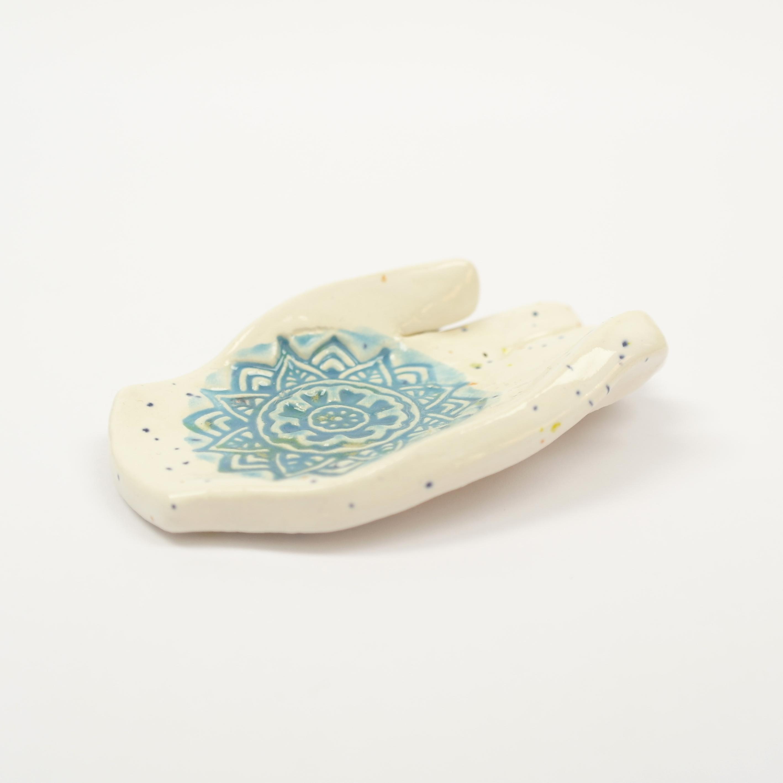 Ceramic Hamsa Hand Dish