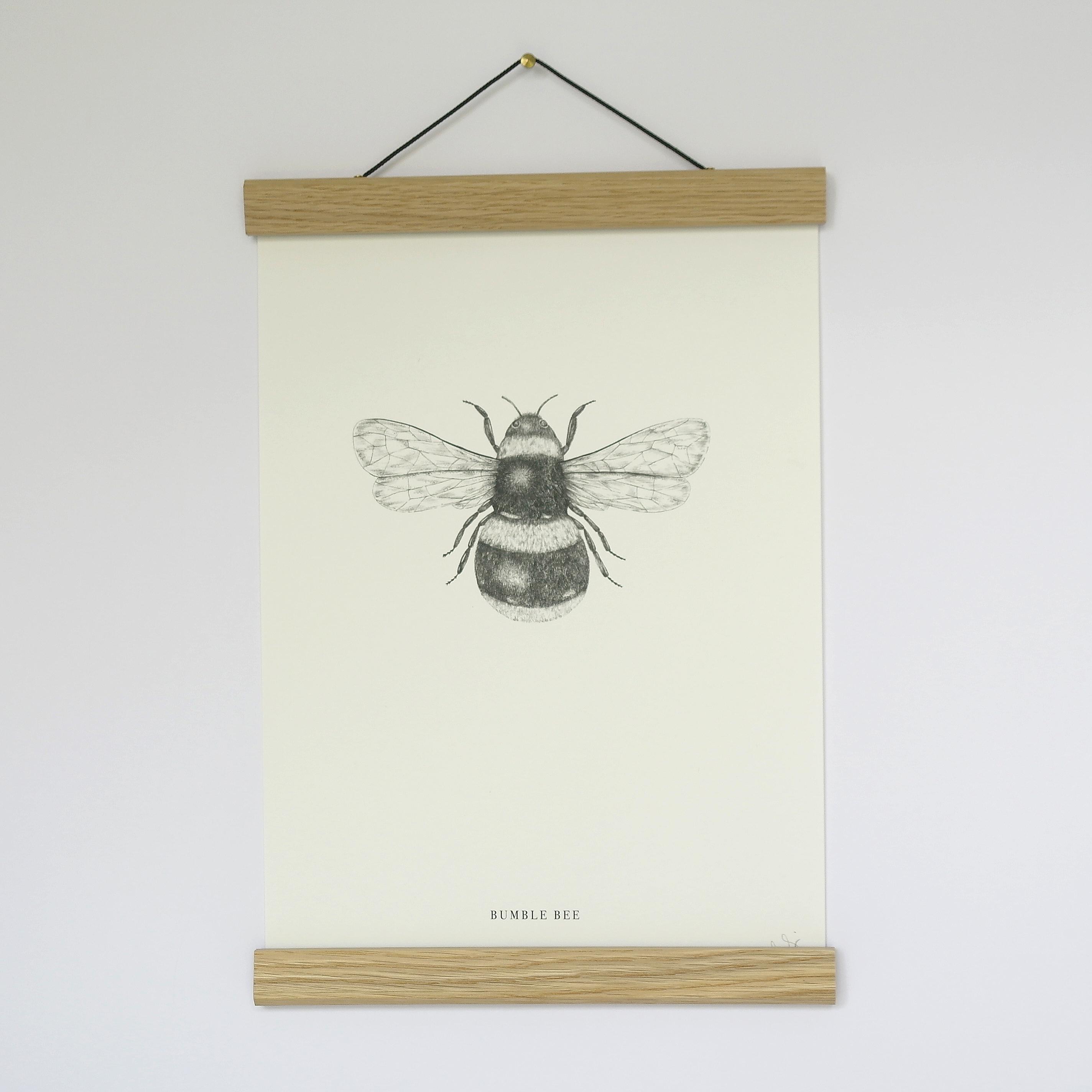 A4 Bee Single Print