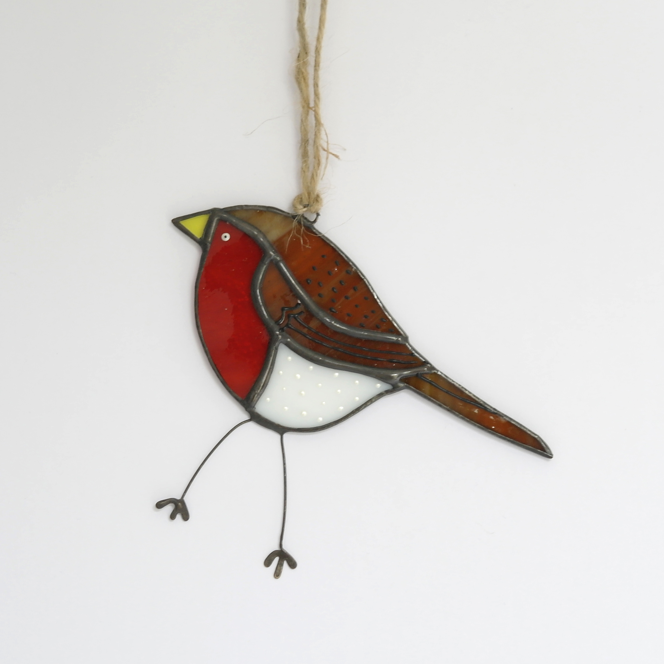 Robin Glass Hanging (Boxed)