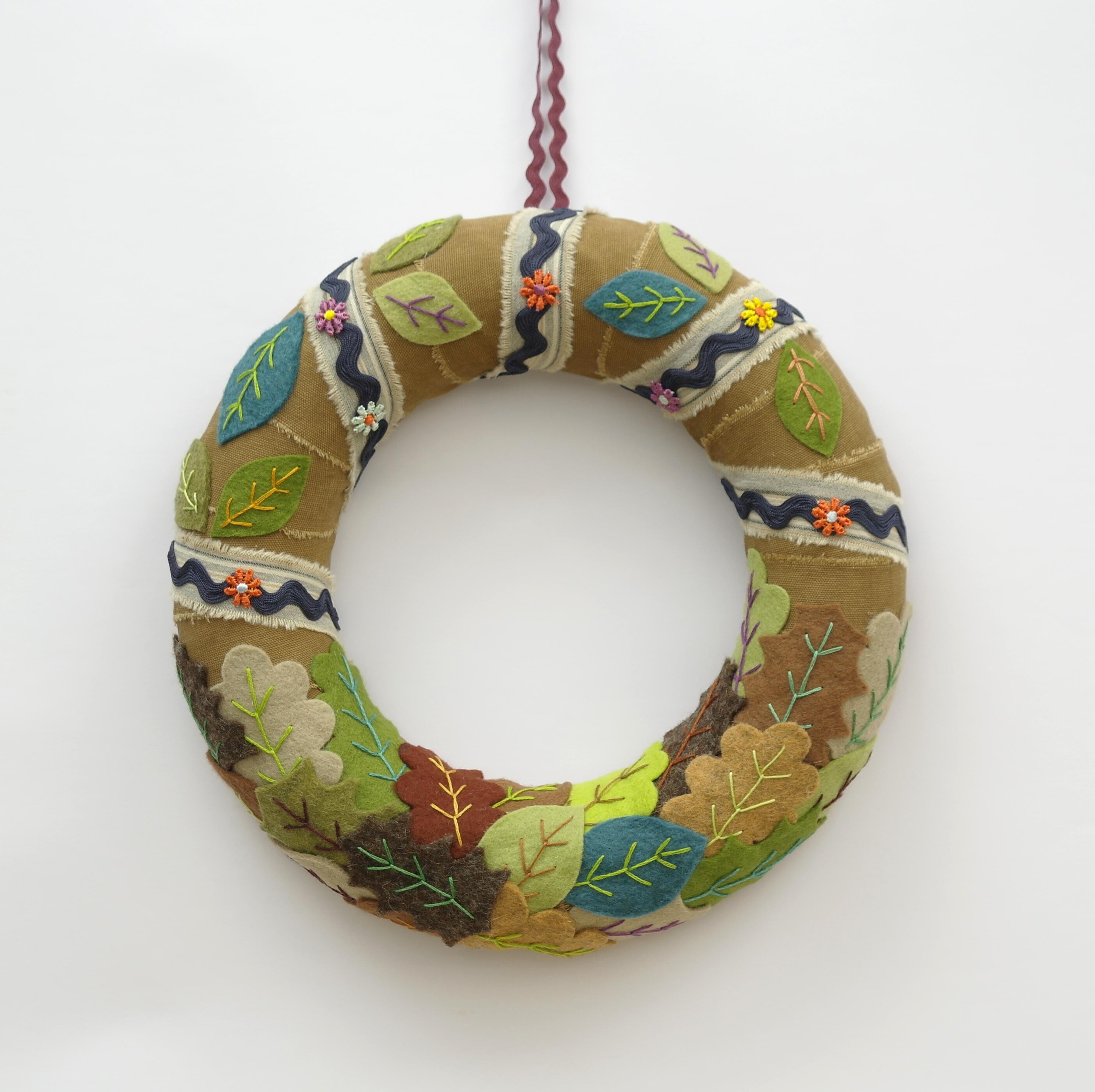 Christmas Stitched Garland/Wreath