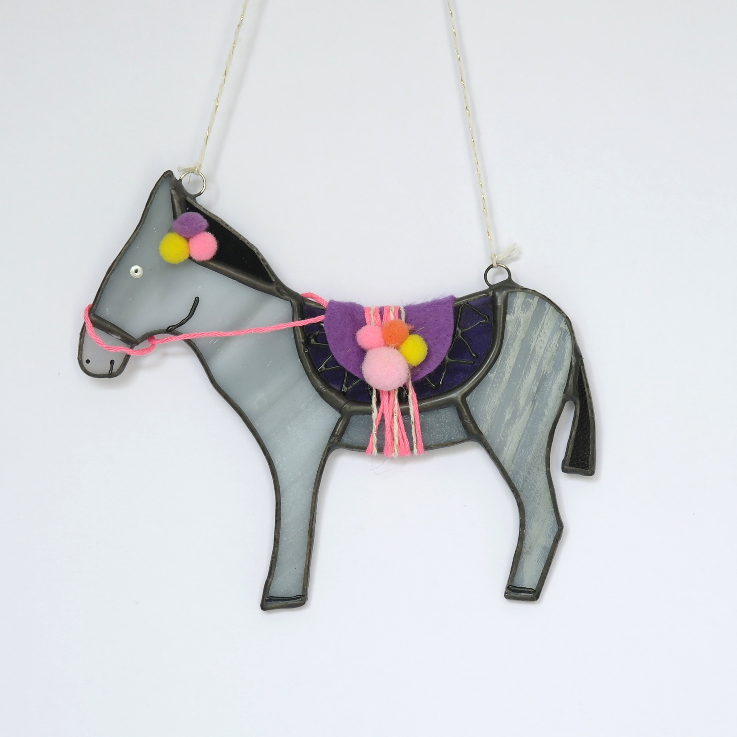 Donkey Glass Hanging (boxed)