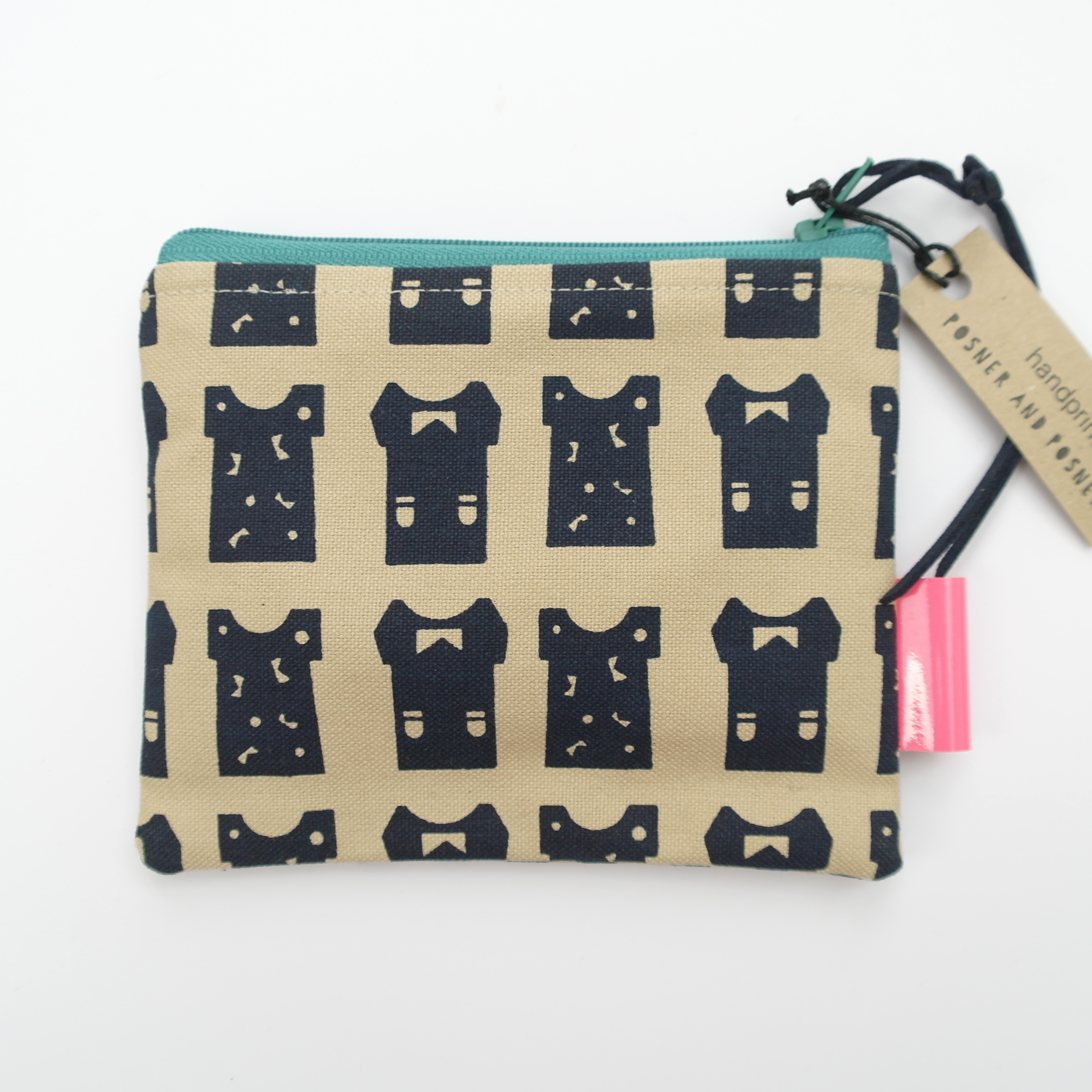 Small Purse with T-shirt print - Various Colours available