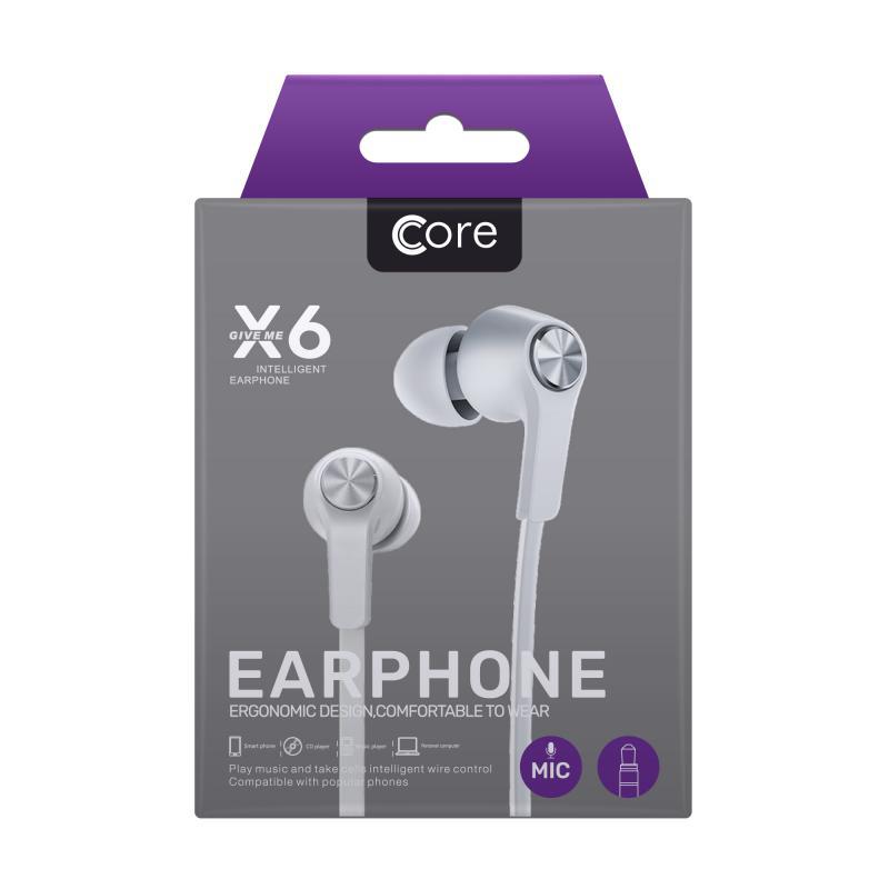 Core X6 Earphones
