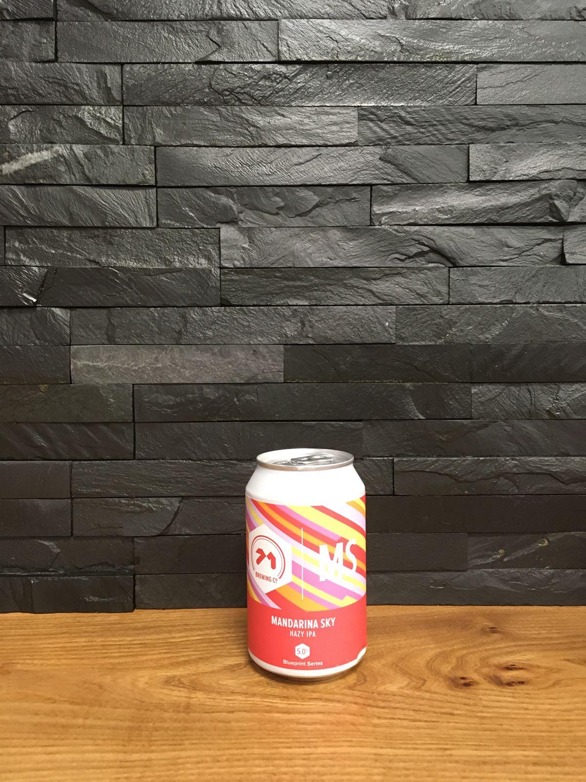 71 Brewing Mandarina Sky Hazy IPA 330ml