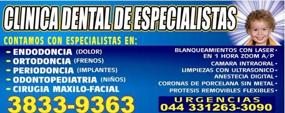 Clinica dental de especialistas