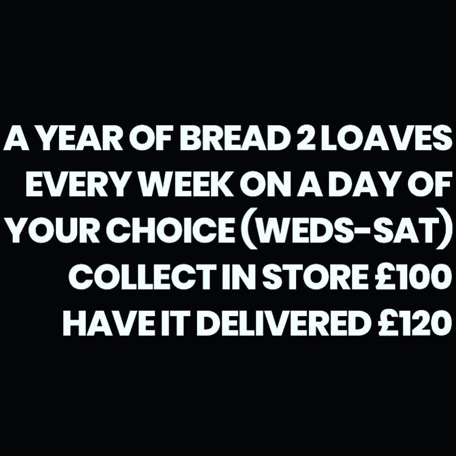 A Year in Bread