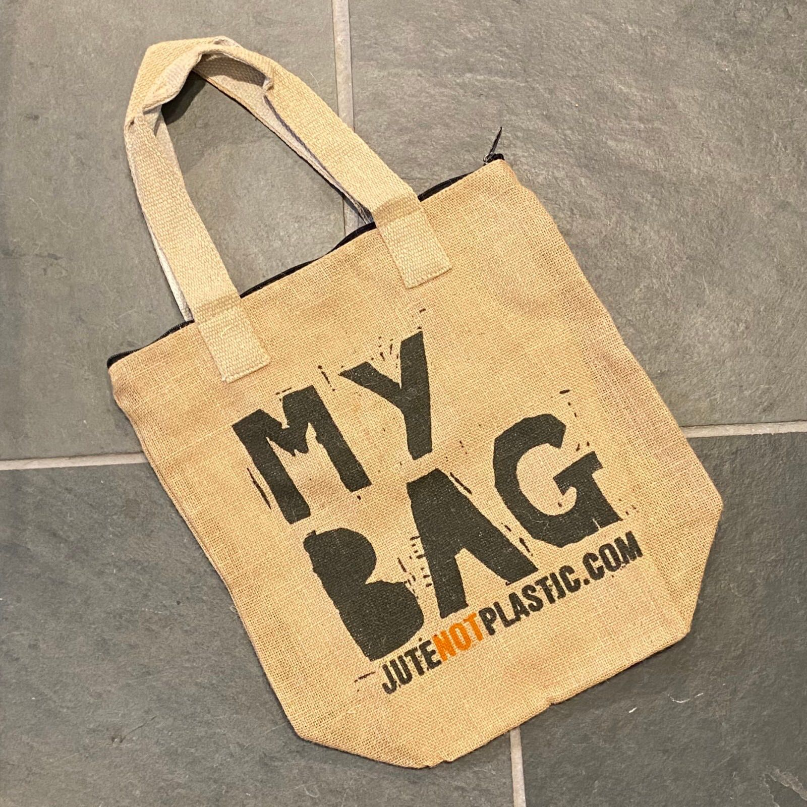'My Bag' Eco Jute Bag