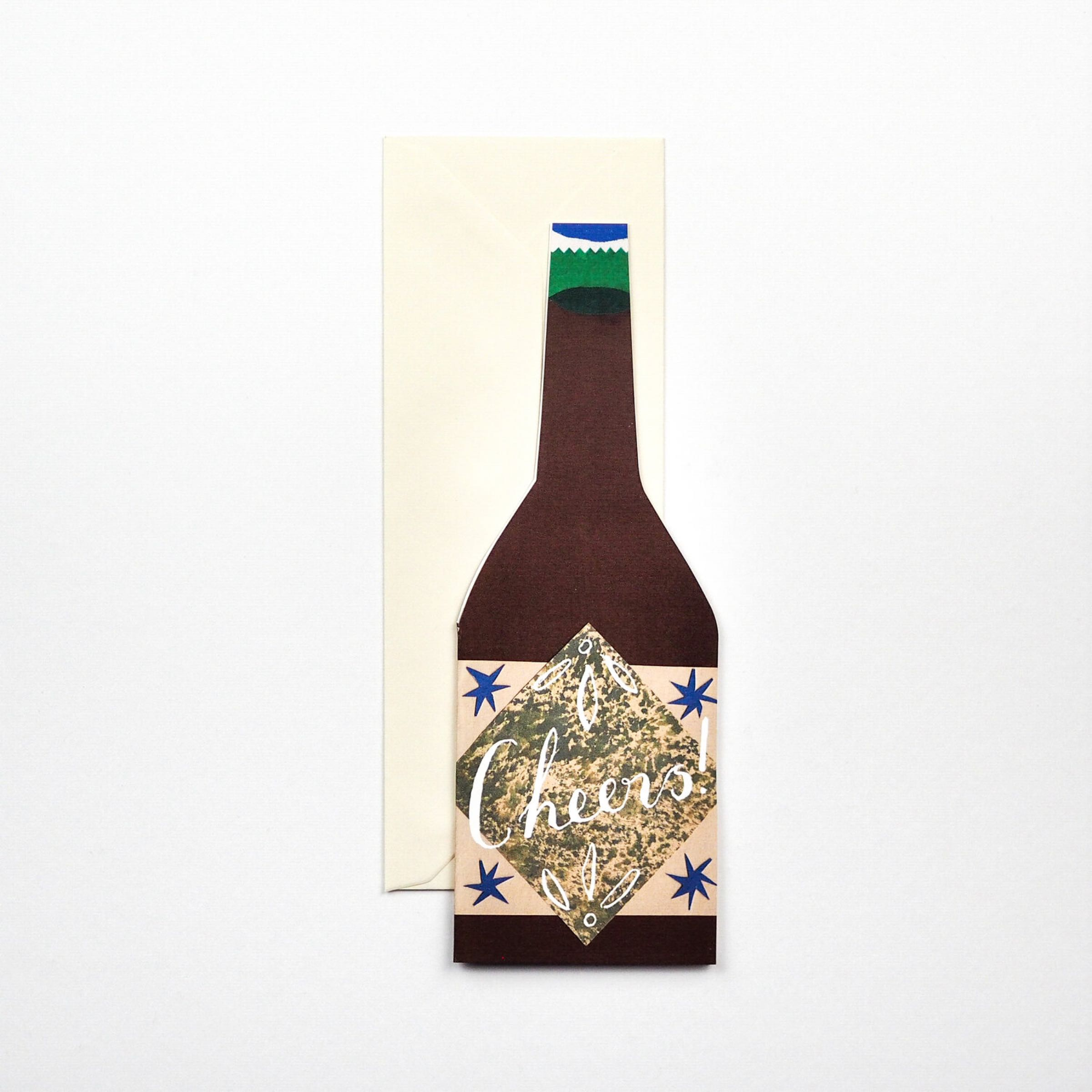 Cheers card by Hadley Paper Goods